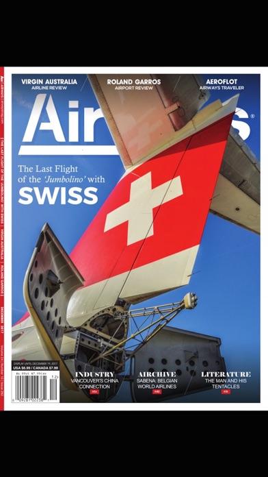 Airways Magazine screenshot one