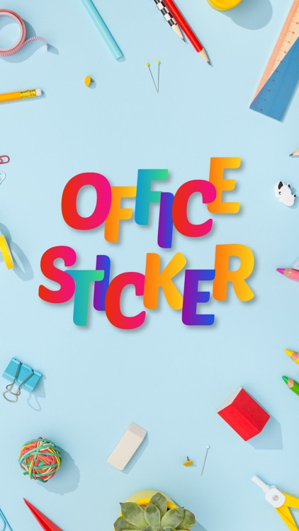 Office Works Sticker