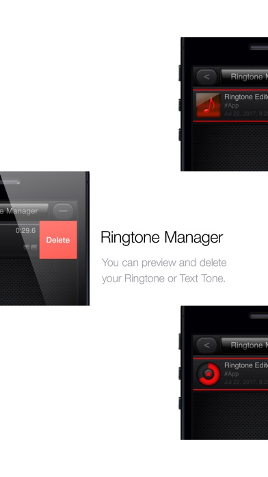 Screenshot #4 for Ringtone Editor Pro