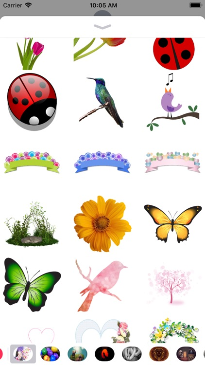 Spring Stickers - 2018
