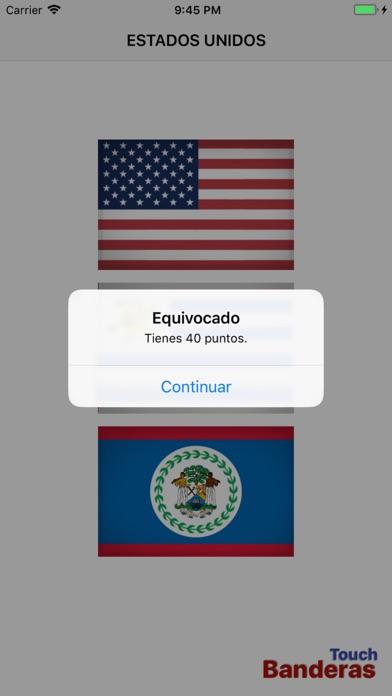 Touch Banderas screenshot 5