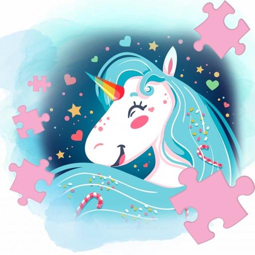 My Little Unicorn Horse Jigsaw Puzzle iOS App