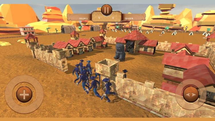 Cowboys Battle Simulator