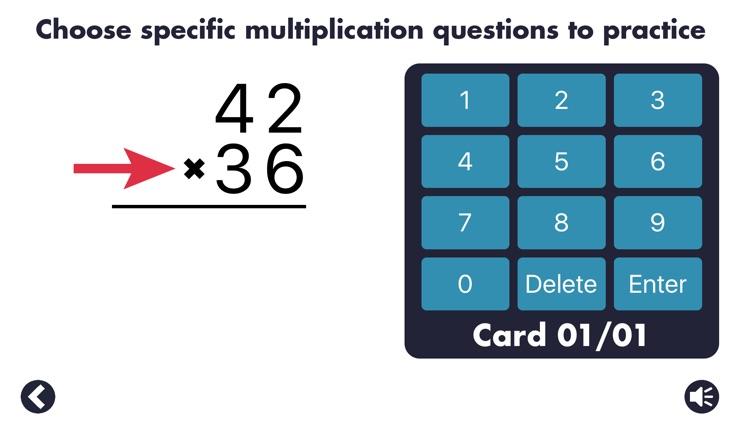 MathEdge Multiplication screenshot-4