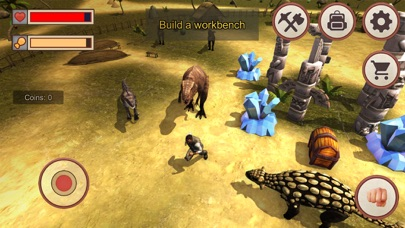 Jurassic Dino Island 3D screenshot one