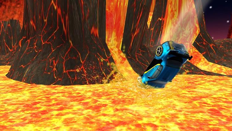 Lava Car Stunt Challenge Racer screenshot-4