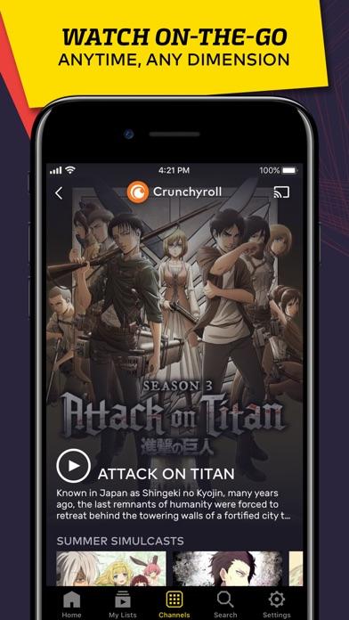 VRV: Anime, game videos & more - AppRecs