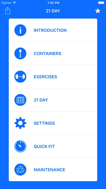 21 Day Fit Container Tracker screenshot-0
