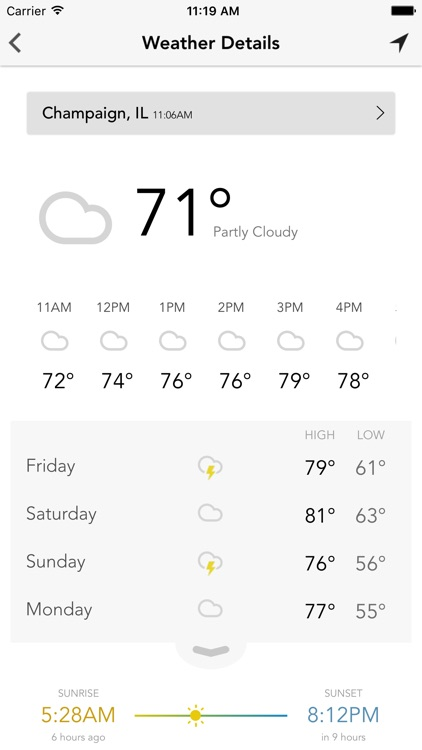 IHP and WCIA 3 Weather