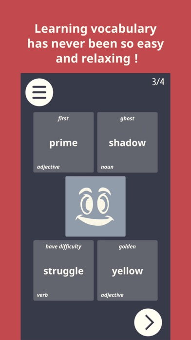 VocaStick - Learn Vocabulary screenshot one