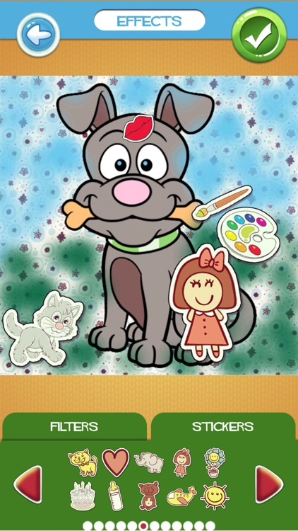 Cute Dog Coloring Book Pages screenshot-3