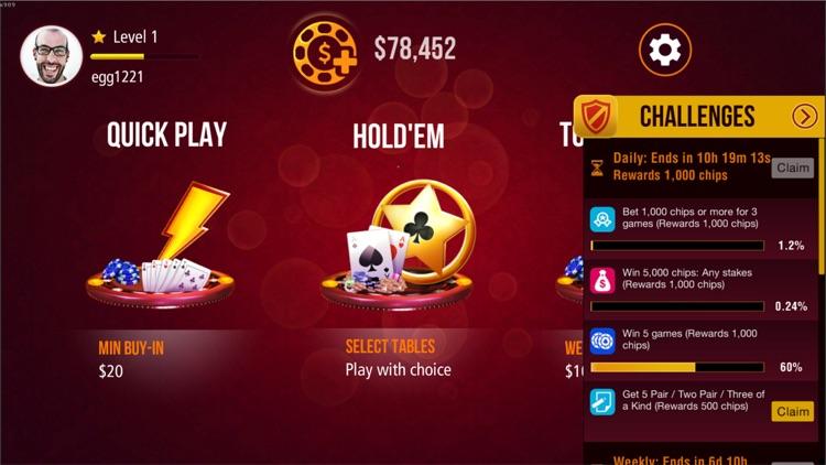 Miiny Poker Texas Holdem screenshot-4