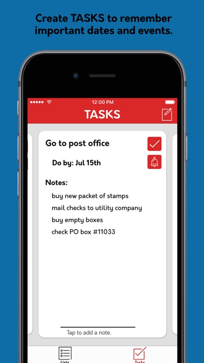 Jot: The Simple List and Task Manager