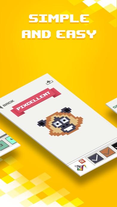 Pixel Land Color by Number art screenshot 2