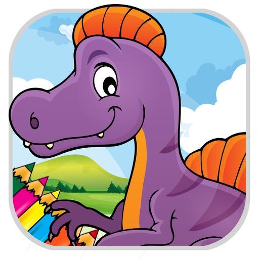 Animal Coloring Dinosaur Zoo iOS App