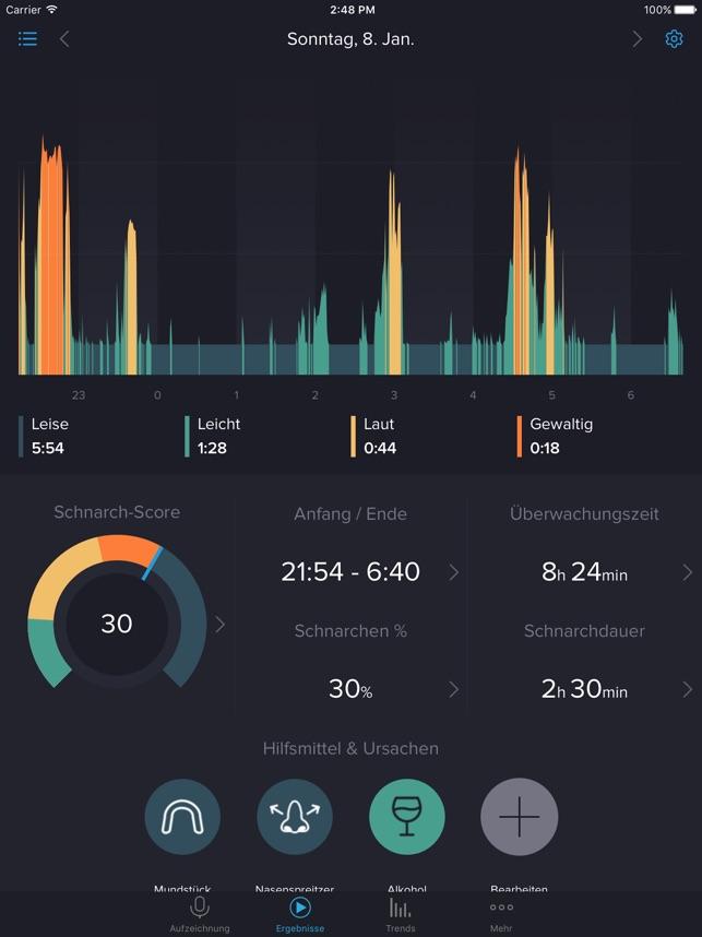 SnoreLab Im App Store