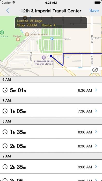 Transit Tracker - San Diego