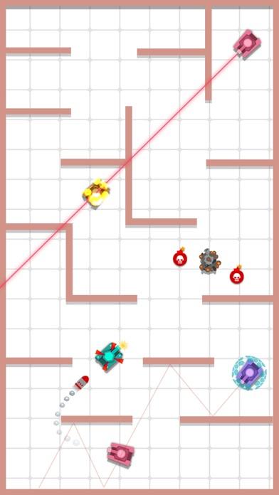 Pocket Hero-Wars of Mini Tanks Screenshot on iOS