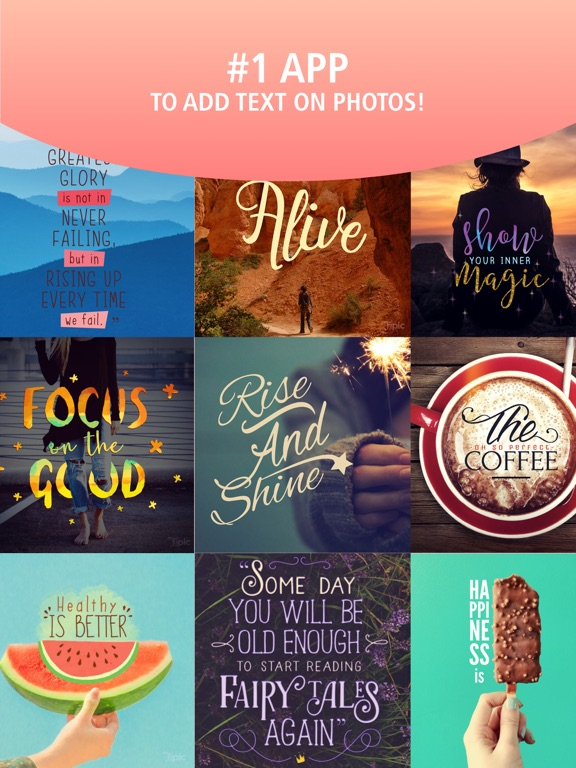 Typic - Text on Photos