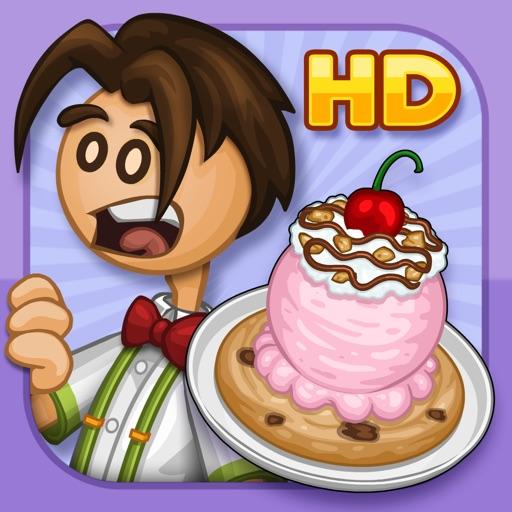 Papa's Scooperia HD app for ipad