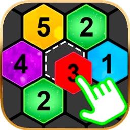 Merge 7 Hex Puzzle