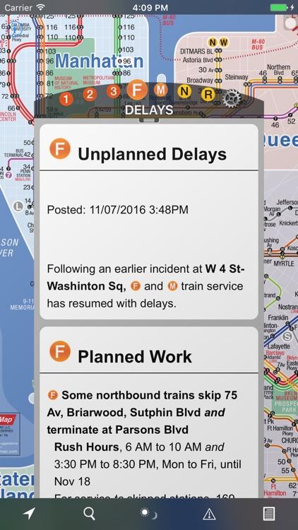 NYC Subway 24-Hour KickMap+ screenshot-3