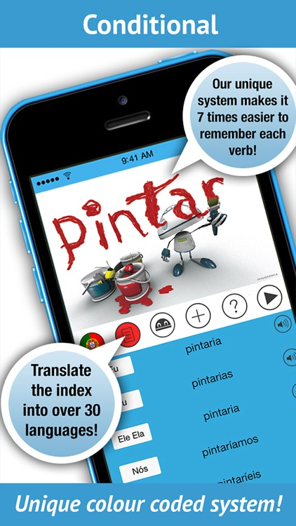 Portuguese Verbs - LearnBots. screenshot-3