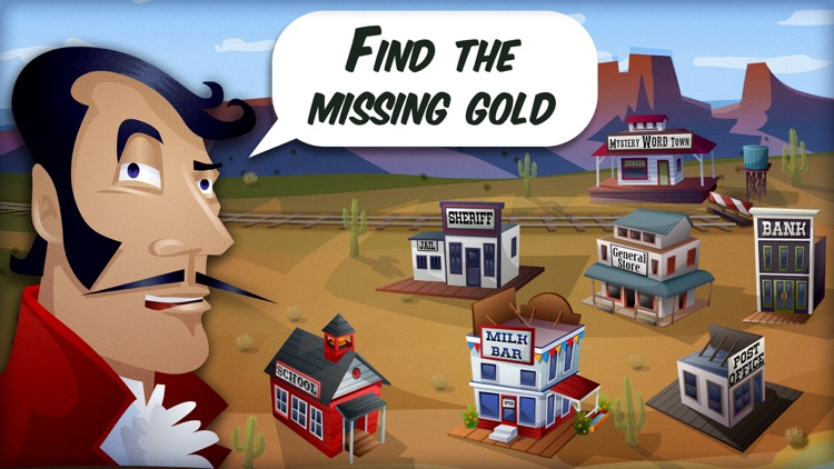 Mystery Word Town Spelling screenshot-0