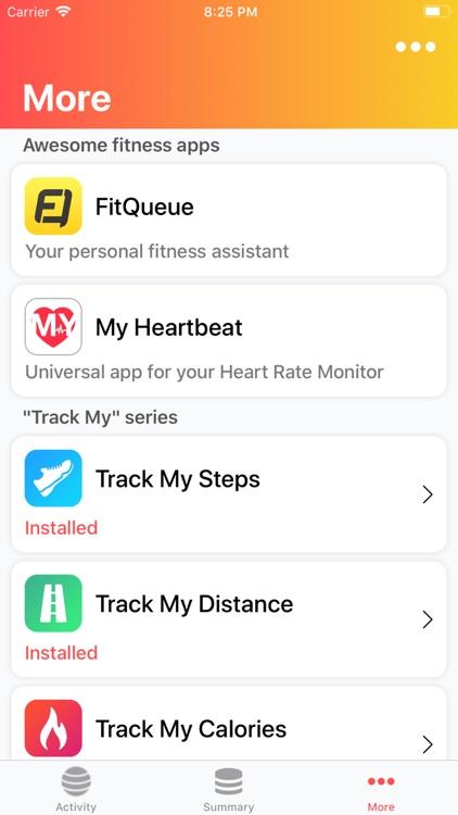 Ball Games: Track My Calories screenshot-3
