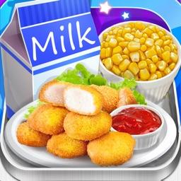 School Lunch Food 2018