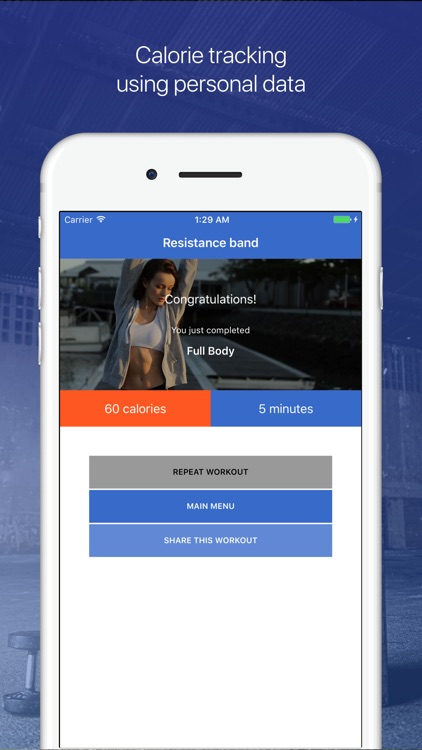 Resistance Bands Workouts by Fitify screenshot-3