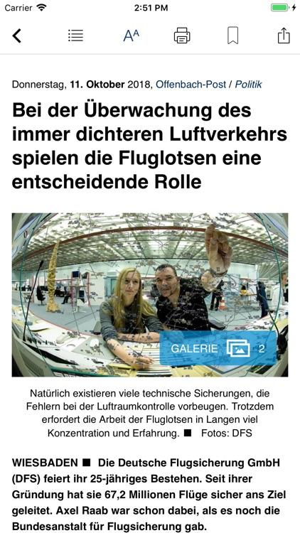 Offenbach-Post E-Paper screenshot-3