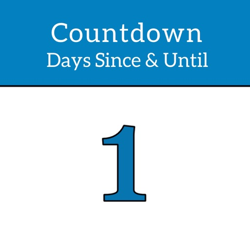 Countdown Days Since & Until