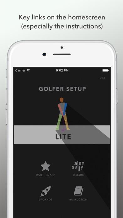 Golfer Setup 2019 LITE screenshot four