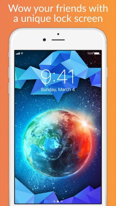 Lock Screens - Free Wallpapers & Background Themes Screenshot 4
