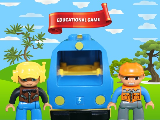Alphanumeric Trains на iPad