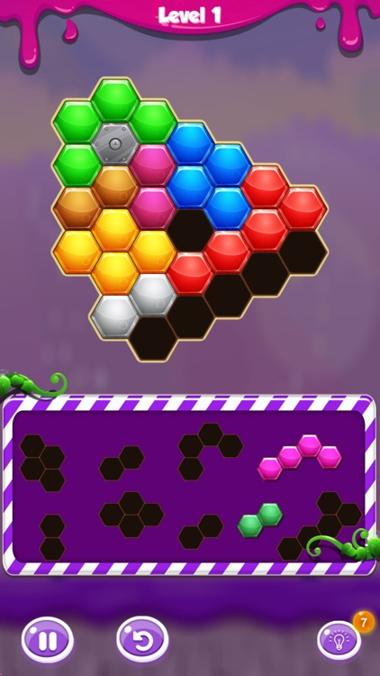 Hexa Merge: Block Puzzle Game screenshot-4