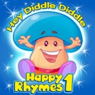 Happy Rhymes 1 - Hey Diddle Diddle icon