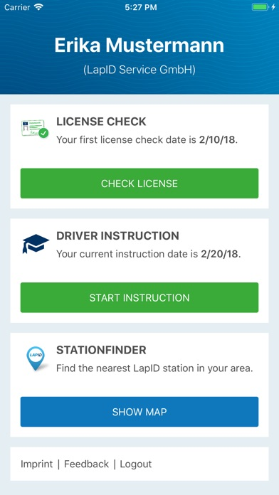 LapID Driver screenshot two