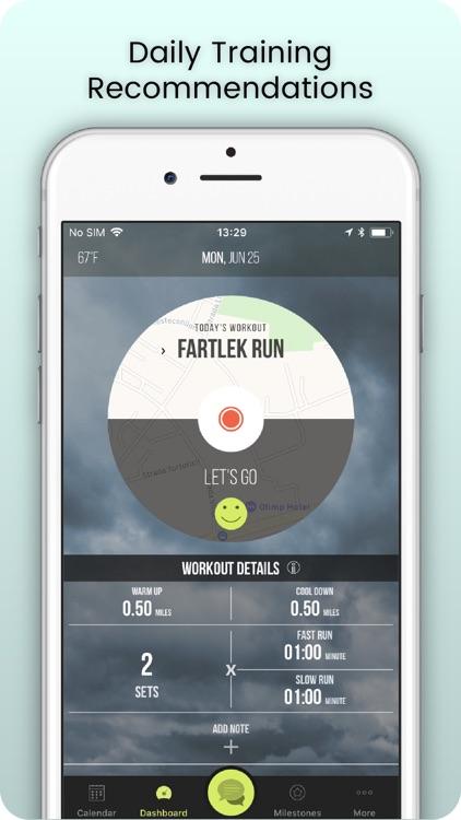 SportMe Marathon & Run Trainer screenshot-0
