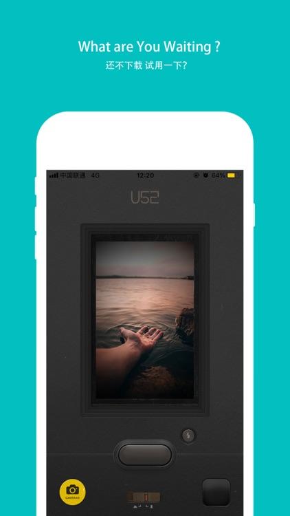 U52-Retro Film Camera screenshot-3