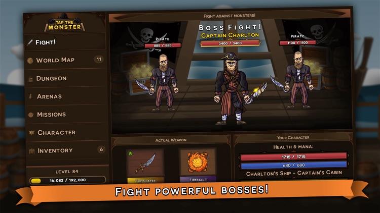 Tap the Monster - RPG clicker screenshot-0