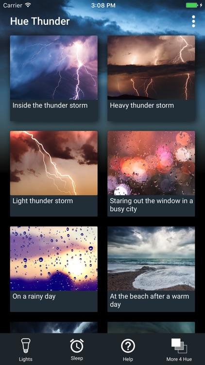 Hue Thunder for Philips Hue