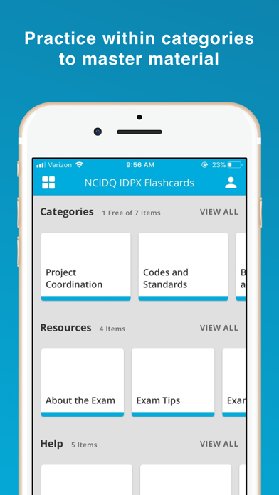 NCIDQ® IDPX& IDFX Flashcards screenshot 2