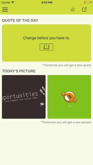 Daily confidence quotes & motivational wallpapers on the App