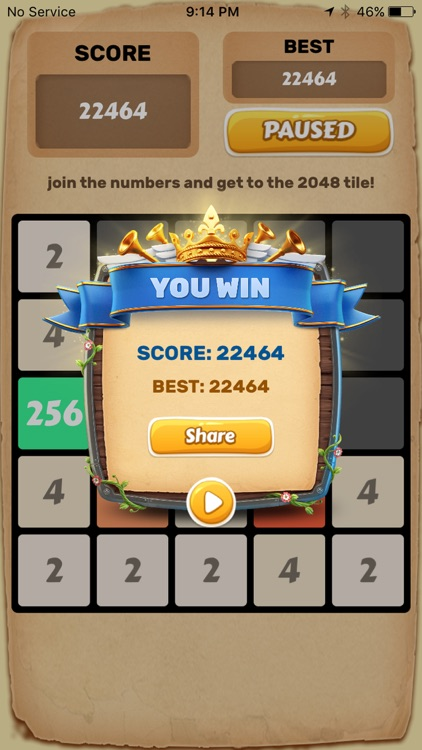 2048 Number Puzzle Game. screenshot-1