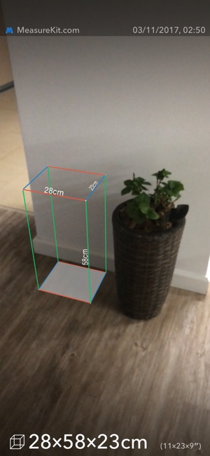 MeasureKit - AR Ruler Tape Screenshot