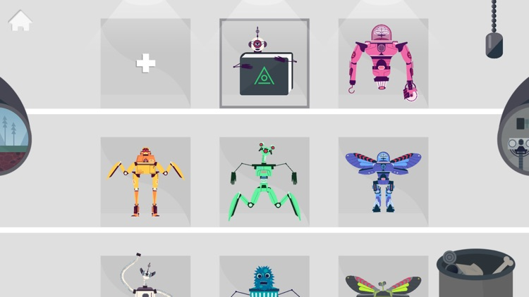 The Robot Factory by Tinybop screenshot-0