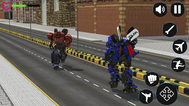 police robot aircraft war screenshot-2