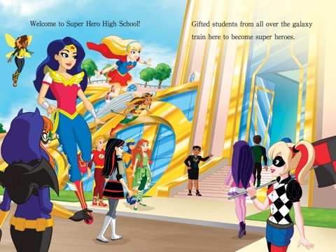 Welcome To Super Hero High Dc Super Hero Girls By Courtney